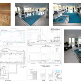 Swimming Pool Design-Drawn